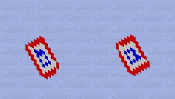 Captain America's Shield Minecraft Mob Skin