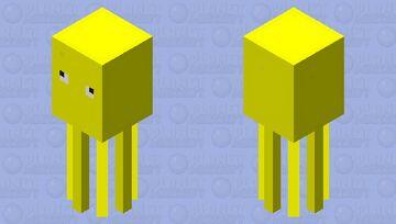 The Sun Squid Minecraft Mob Skin