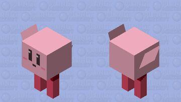 Cube Kirby (SSBU) Minecraft Mob Skin