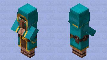 Warped Trader Minecraft Mob Skin