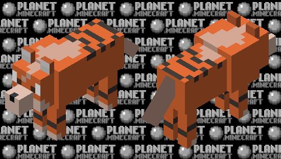 Growlithe Minecraft Skin
