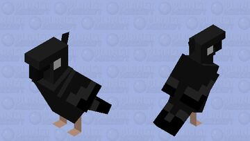 Crow Bird Minecraft Mob Skin