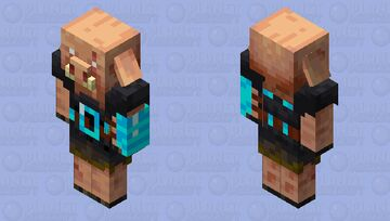 Piglin Brute loves diamonds Minecraft Mob Skin