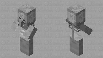 Villager Skeleton Minecraft Mob Skin