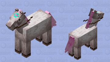 Unicorn (tamed) Minecraft Mob Skin