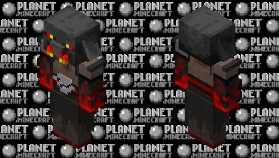 Magma Piglin Minecraft Skin