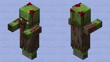 Death Zzombie Villager Minecraft Mob Skin