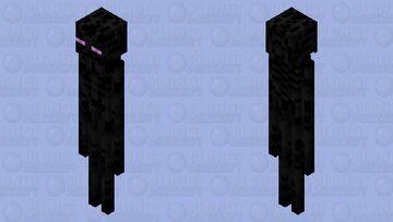 improved enderman Minecraft Mob Skin