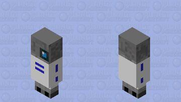 r2 d2 Minecraft Mob Skin