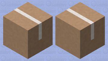 Cardboard box Shulker Minecraft Mob Skin