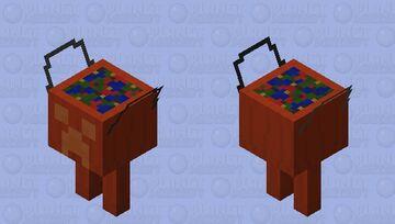 Candy Basket Strider Minecraft Mob Skin