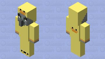 Ducky evoker Minecraft Mob Skin