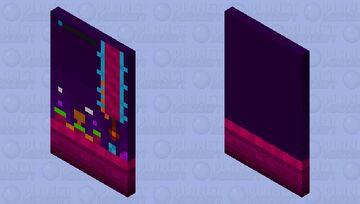 Geometry dash: Fingerdash (With elytra) Minecraft Mob Skin