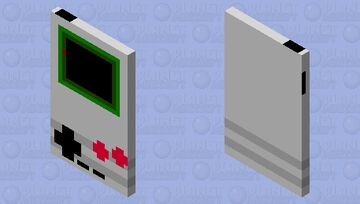 GameBoy HD Minecraft Mob Skin