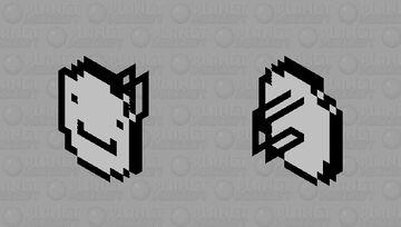 Circular Shield of Dream Army Minecraft Mob Skin