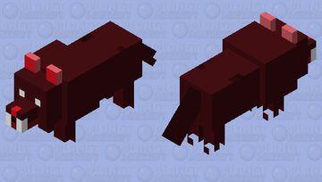 Death Wolf Minecraft Mob Skin