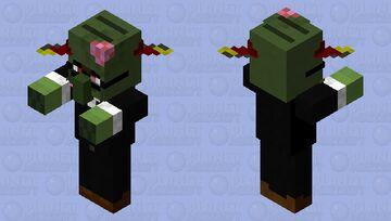 Teacher Zombie. Minecraft Mob Skin
