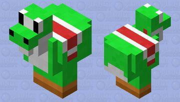 Yoshi Chicken Minecraft Mob Skin