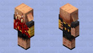 Cannibal Piglin Brute Minecraft Mob Skin