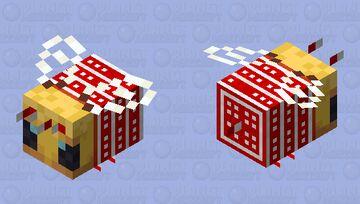 Winter bee Minecraft Mob Skin
