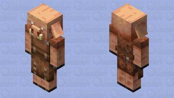 Leatherworker Piglin Minecraft Mob Skin