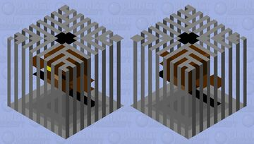 pigwidgeon in his  cage (harry potter) Minecraft Mob Skin