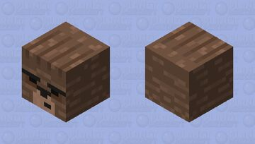 This is a bear Minecraft Mob Skin