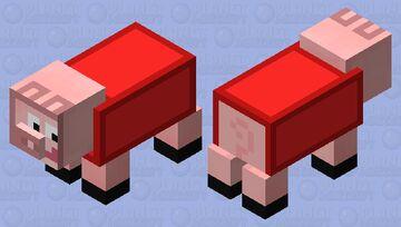 Peppa Pig Minecraft Mob Skin