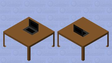 DS on a table Minecraft Mob Skin