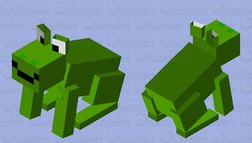 Frog? Yeah, sure... Minecraft Mob Skin