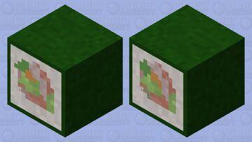 Sushi Shulker Box V2 Minecraft Mob Skin