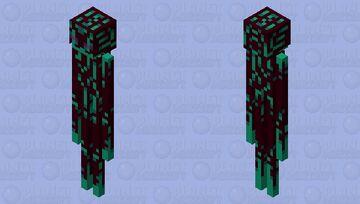 Warped Invader (idk what I did) Minecraft Mob Skin