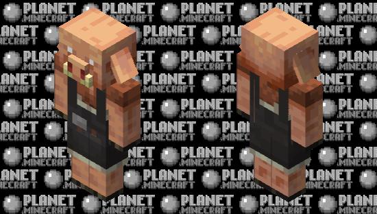 Mason Piglin Minecraft Skin