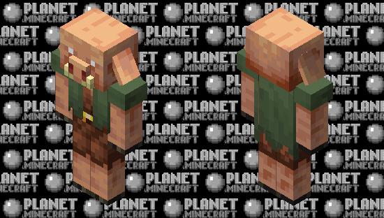 Nitwit Piglin Minecraft Skin