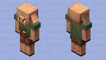 Nitwit Piglin Minecraft Mob Skin