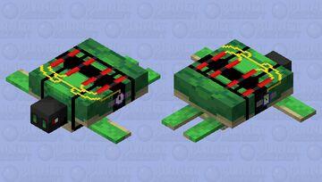 Terrorist turtle Minecraft Mob Skin