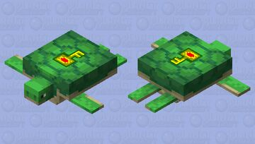Jojo's Golden Wind Turtle Minecraft Mob Skin