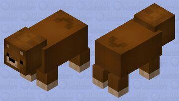 Really Cute Bear :3 Minecraft Mob Skin