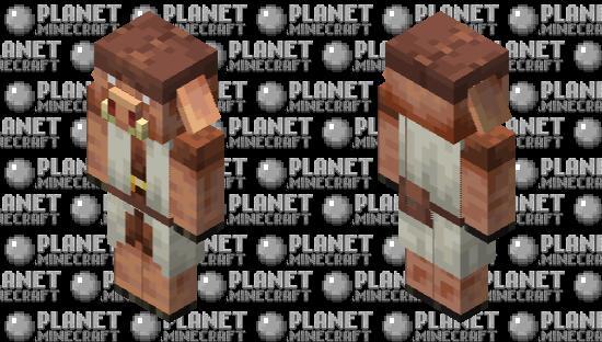 Shepherd Piglin Minecraft Skin