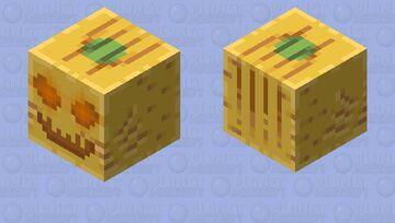Pumpkin Ghast (Shooting) Minecraft Mob Skin