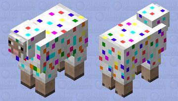 Confetti Sheep Minecraft Mob Skin