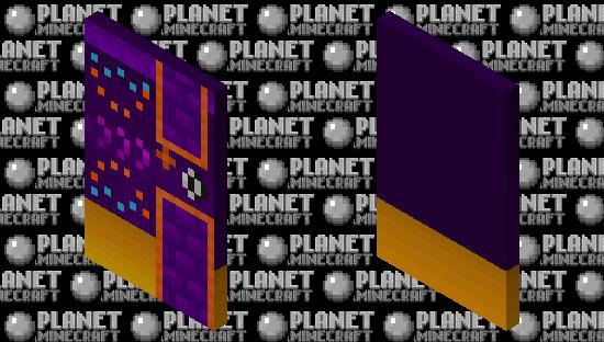 Geometry dash: fingerdash (Version 2) (With elytra) Minecraft Skin