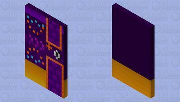 Geometry dash: fingerdash (Version 2) (With elytra) Minecraft Mob Skin