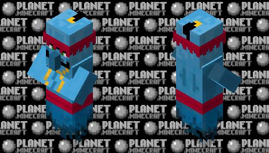 Genie in a Lantern (Villager mob) Minecraft Skin