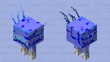 Frozen strider Minecraft Mob Skin