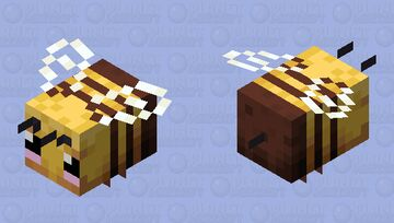 Cute beee Minecraft Mob Skin