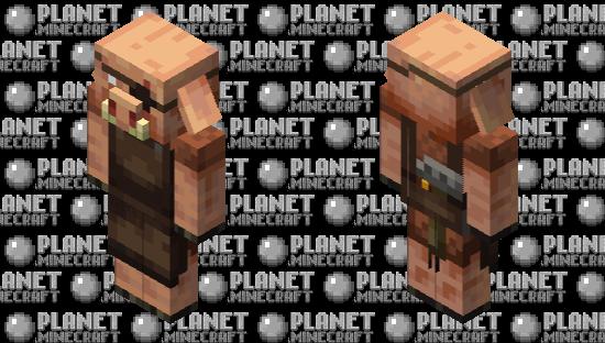 Weaponsmith Piglin Minecraft Skin
