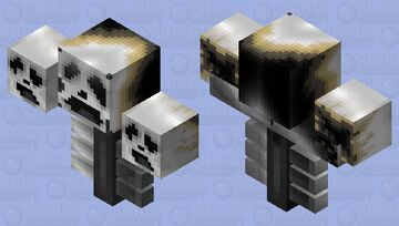 wax wither Minecraft Mob Skin