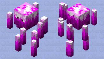 Candy Blaze Minecraft Mob Skin