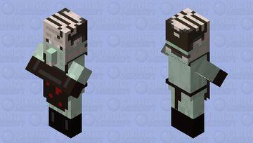 Halloween Butcher Minecraft Mob Skin
